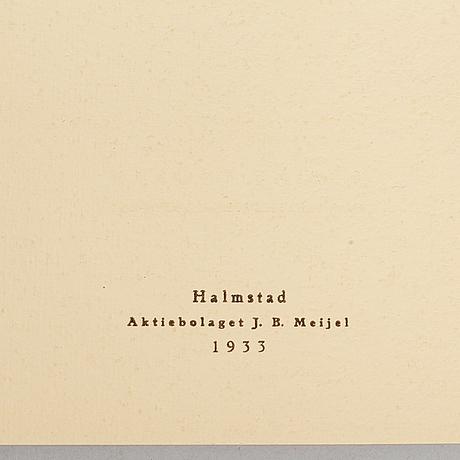 Exhibition catalogues (24), halmstadgruppen. various exhibitions 1931-1986.