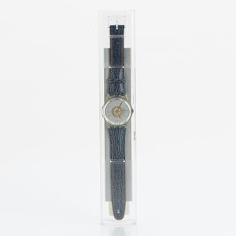 Swatch, delave, wristwatch, 34 mm.