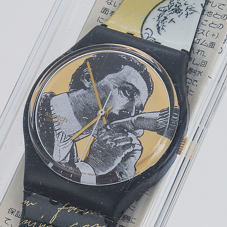 Swatch, baiser d'antan, wristwatch, 34 mm.