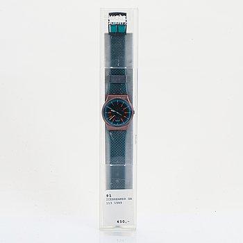 Swatch, Icebreaker, wristwatch, 34 mm.