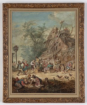 David Teniers d.y, in the manner of, watercolour.