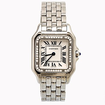Cartiere Panthère, wrist watch,  26,5 x 26,5 (36) mm.