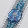 Swatch, horizon, cherif & silvie defraoui, wristwatch 34 mm.