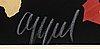 Karel appel, färglitografi, signerad och numrerad 109/175.