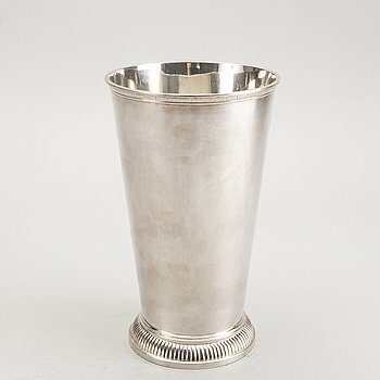 Eric Råström, a silver vase from 1944.