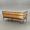 A late gustavian bronzed sofa early 1800s.