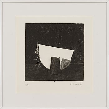 Pentti Kaskipuro, dry-point etching, signed and dated 1990, numbered 43/50.