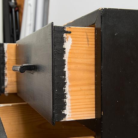 Alvar aalto, a mid-20th century chest of drawers for o.y. huonekalu- ja rakennustyötehdas ab.