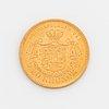 Oscar ii, guldmynt, 20 kr, 1899, typ iii.