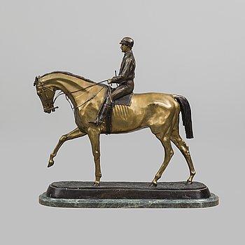 PIERRE JULES MÈNE, after, a bronze sculpture.