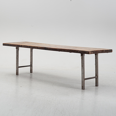 Franz hart, attributed to. a folding coffee table, germany.