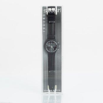 Swatch, Chrono, Wall Street, wristwatch, 36 mm.