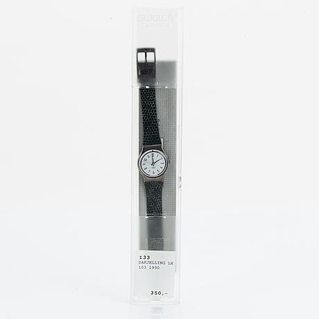 Swatch, darjelling, wristwatch, 25 mm.
