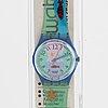 Swatch, hookipa, wristwatch, 34 mm.