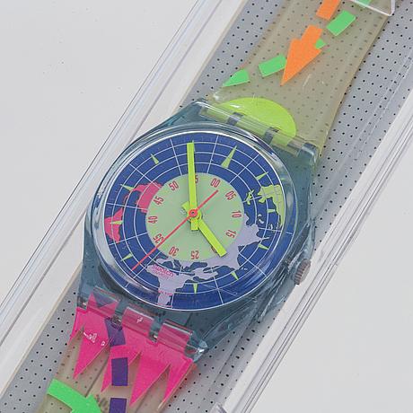 Swatch, north pole, armbandsur, 34 mm.