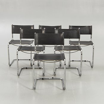 Chairs, Italy, 8 pcs, late 20th century.