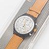 Swatch, chrono, sirio, armbandsur, kronograf, 36 mm.