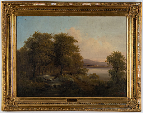 Unknown artist, 19th century, oil on canvas, signed m. orsetzki.