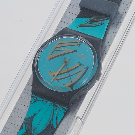 Swatch, figueiras, wristwatch, 36 mm.