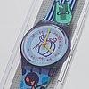 Swatch, tuba, wristwatch, 34 mm.