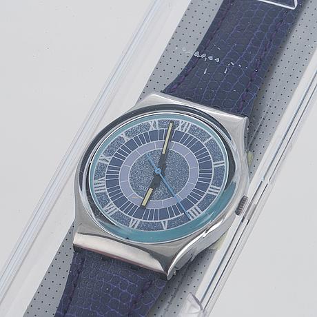 Swatch, alexander, wristwatch, 34 mm.