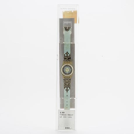 Swatch, vinci's twist, armbandsur, 25 mm.