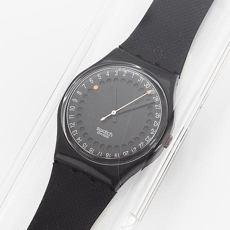 Swatch, spot flash, wristwatch, 34 mm.