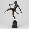 Pierre le faguays, after, bronze, 20th century, signed.