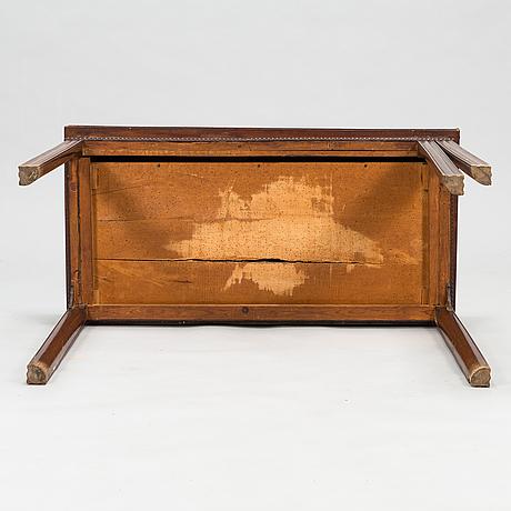 Spelbord, gustavianskt, omkring år 1800.