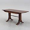Bord/matbord med klaffar, engelsk stil, nordiska kompaniet, formgivet 1945.
