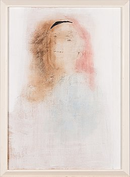 Max Salmi, oil on board, signed and dated 1970.