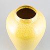 An earthenware floor vase from nittsjö, mid 20th century.