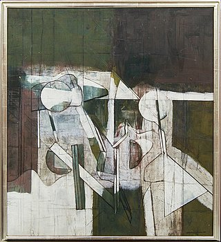 Anders Österlin, a signed and dated 1980 oil on canvas.