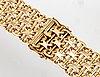 Wrist watch bracelet, 18k gold c30g.