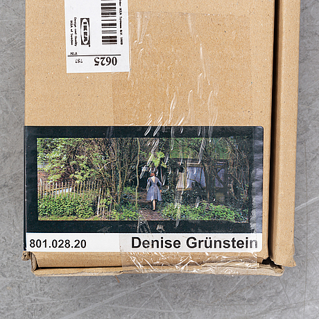Denise grünstein, screen printing on canvas, from the ikea art event series, numbered, 2006.