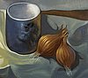 Pascual di bianco, oil on canvas, signed and dated -76.