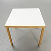"""Alvar aalto, table """"a83c""""."""