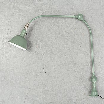 Johan Petter Johansson, a 'Triplex-Pendel' industrial lamp for Asea, mid 20th Century.