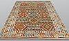 A carpet, kilim, ca 291 x 204 cm.