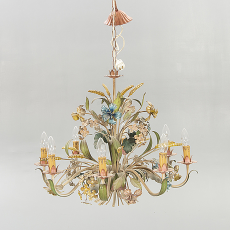 A mid 1900s ceiling lamp.