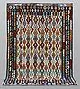 A carpet, kilim, ca 298 x 209 cm.