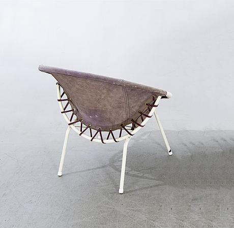 """Lusch erzeugnis, fåtölj, """"baloon"""", lusch & co, 1960-tal."""