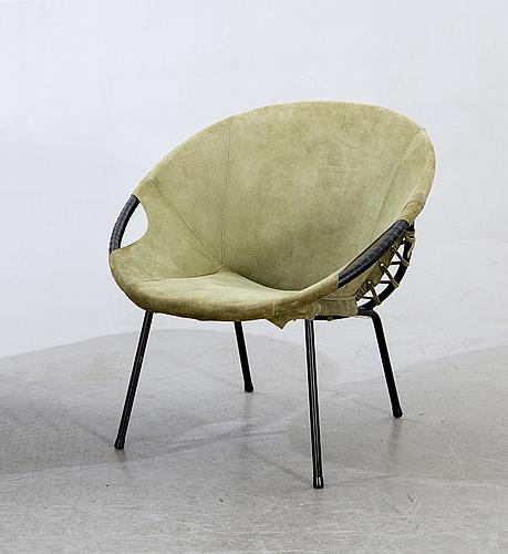 """Lusch erzeugnis, armchair, """"baloon"""", lusch & co, 1960s."""