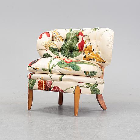 Otto schulz, an easy chair 'schulz', jio möbler, jönköping. second half of the 20th century.
