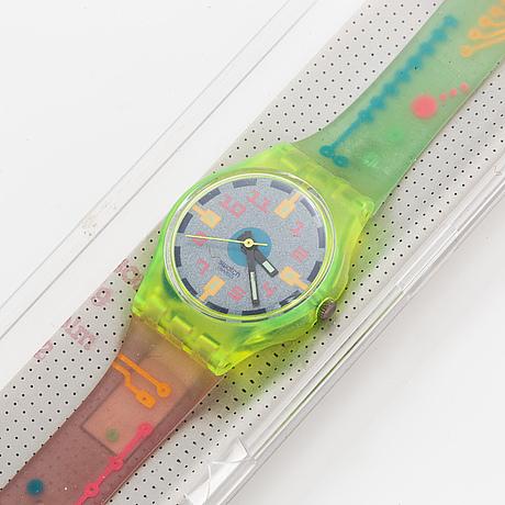 Swatch, neutrino, armbandsur, 25 mm.