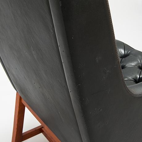 Karl-erik ekselius, a 1960's armchair for joc möbler, vetlanda.
