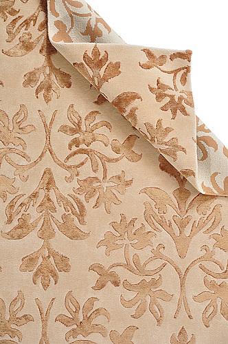 A carpet, india, wool  and  bambo  silk, ca 240 x 170.