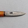 Three sami knives, one per sunna.