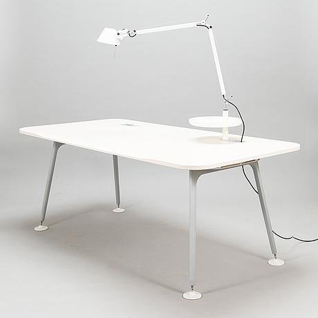 Jasper morrison, skrivbord, atm system, vitra 2000-tal.