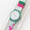 Swatch, hice speed, wristwatch, 34 mm.